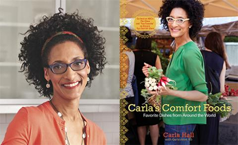 """The Chew carla hall, co-host of abc's """"the chew,"""" will appear in"""