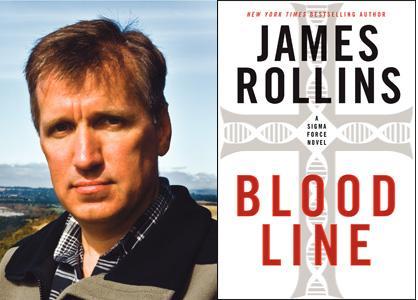 james rollins  James Rollins discusses Bloodline: A Sigma Force Novel   Rainy Day Books