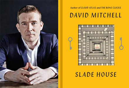 David Mitchell will discuss his new novel Slade House ...