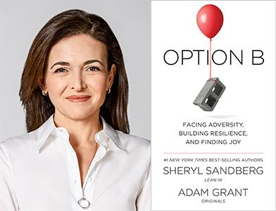 SOLD OUT Sheryl Sandberg In Conversation for her new book Option B ...